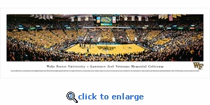 Wake Forest Demon Deacons University - Basketball - Panoramic Photo (13.5 x 40)
