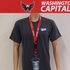 Washington Capitals Lanyard Key Chain with Ticket Holder