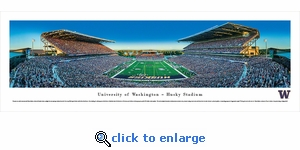Washington Huskies Football - Panoramic Photo (13.5 x 40)