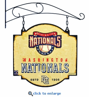 Washington Nationals 16 X 16 Metal Tavern / Pub Sign