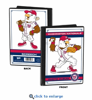 Washington Nationals Mascot 4x6 Mini Photo Album - Screech