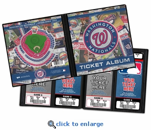 Washington Nationals Ticket Album