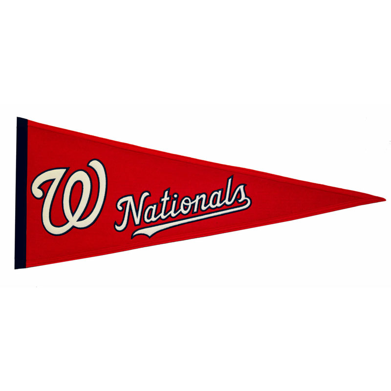 Washington Nationals Traditions Wool Pennant (13 x 32)