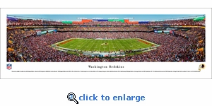 Washington Redskins - 50 Yard Line - Panoramic Photo (13.5 x 40)