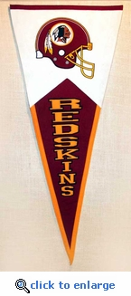 Washington Redskins Classic Wool Pennant (17.5 X 40.5)