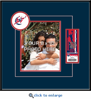 Washington Wizards 8x10 Photo Ticket Frame
