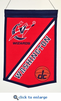 Washington Wizards Traditions Wool Banner (12 x 18)