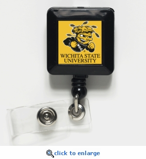 Wichita State Shockers Retractable Ticket Badge Holder