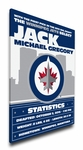 Winnipeg Jets Personalized Canvas Birth Announcement - Baby Gift