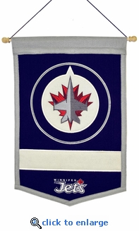 Winnipeg Jets Traditions Wool Banner (12 x 18)