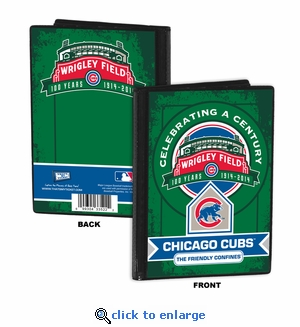 Wrigley Field 100th Anniversary 4x6 Mini Photo Album – Chicago Cubs