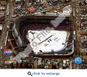 Wrigley Field 2008-09 NHL Winter Classic 8x10 Photo