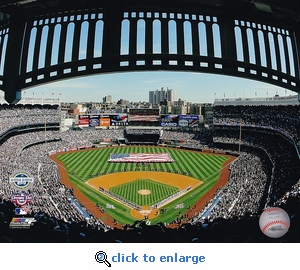 Yankee Stadium Inaugural Game Opening Ceremony New York Yankees 2009 Opening Day 8x10 Photo