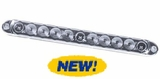 """15""""Slimline LED Stop,Tail, Turn Lamp with Clear Lens"""