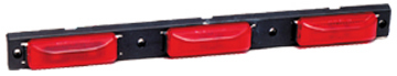 1905 Clear Lens Red Led Lamp ID Bar