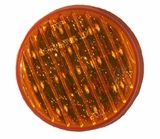 2 1/2 Inch Round Sealed 13 Diodes Amber Led Light