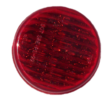 2 1/2 Inch Round Sealed 13 Diodes Red Led Light