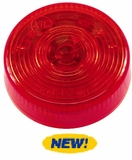 "2.5"" Round Starburst  Red LED Light"