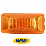 2.5 x 1 Amber 8 LED Clearance/Marker