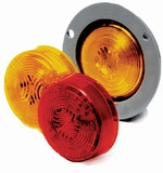 "2"" Amber Led Flange Mount Lamp"