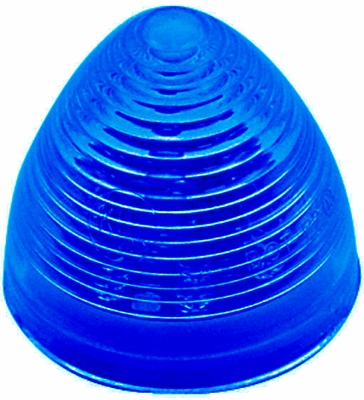 "2"" Blue LED Starburst Beehive Lamp"