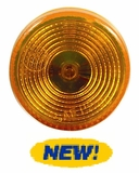 "2"" Round Starburst Amber LED Light"