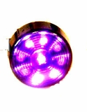 "2"" Round Starburst Purple Led Light"