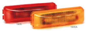 "3.78"" Red Led C/M lamp"