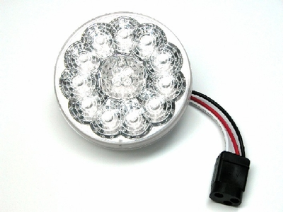"4"" Clear Lens 15 Led Red  Lamp"