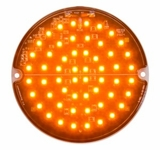 4 Inch Amber Led Strobe Light