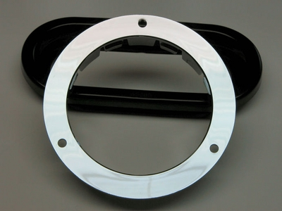 4 Inch chrome flange