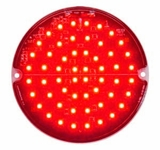4 Inch Red Led Strobe Light