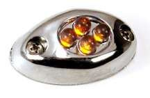 4 - LED Courtesy  Light Amber