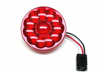 "4"" Red 15 Diode Led S/T/T Lamp"