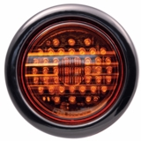 "4"" Round Amber 44 Led Turn Signal Lamp"