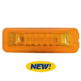 4x1 Amber 12 LED Clearance/Marker