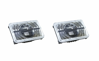 4X6 Led High Beam Headlight Set