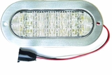 "6"" OVAL LED BACK-UP w/FLANGE"