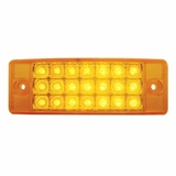 "6""SuperBrite Amber Led C/M lamp"