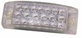 "6""SuperBrite Clear Lens Amber Led C/M lamp"