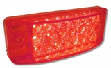 "6""SuperBrite Red Led C/M lamp"