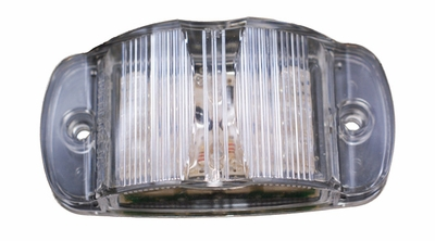 Maxxima LED Marker Light Amber with Clear Lens