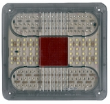 7-1/2 Red Led Stop/Tail/Turn  & Back up Lamp surface mount