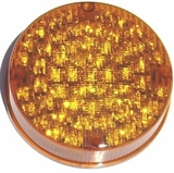 "7"" Amber LED School Bus Light"