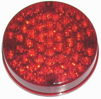"7"" Red LED School Bus Light"