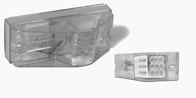 Amber Led Side Turn Signal and Marker Light Clear Lens
