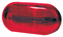 Cats Eye Red Led C/M Lamp