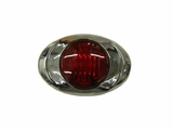 ML3K Mini Oval Red Led Light