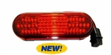Oval Red 60 LED Stop/Tail/Turn Lamp