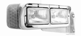 Peterbilt Amber Led turn Signal lamp Clear Lens